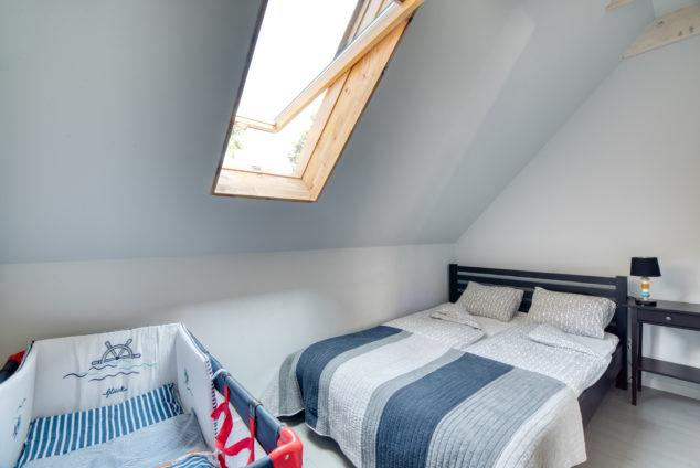 segment typu C sypialnia łóżko małżeńskie